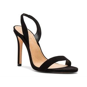 Schutz Luriane Suede Slingback Sandal Heels, Sz 6